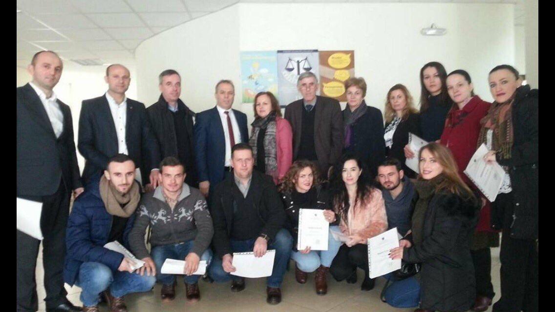 Gjithësejt 41 kandidatë përfundojnë praktikën në Gjykatën Themelore Mitrovicë me degët Vushtrri dhe Skenderaj.