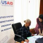 USAID Holds Early Case Screening Training at the Basic Court of Mitrovica